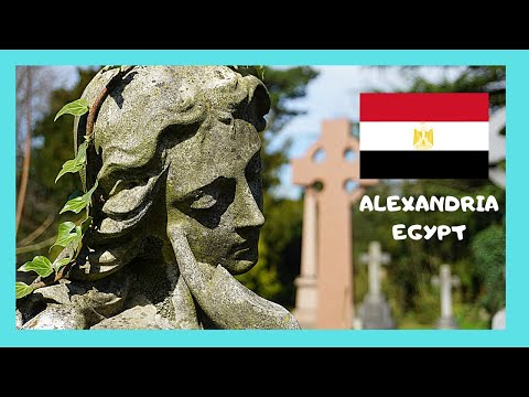 EGYPT: EXPLORING looted tombs of the GREEK CEMETERY (ALEXANDRIA)