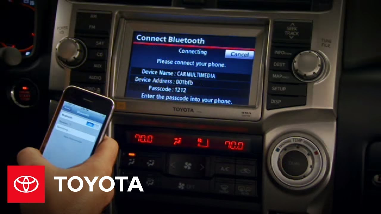 2010 4Runner How-To: Cell Phone Pairing with Navigation | Toyota