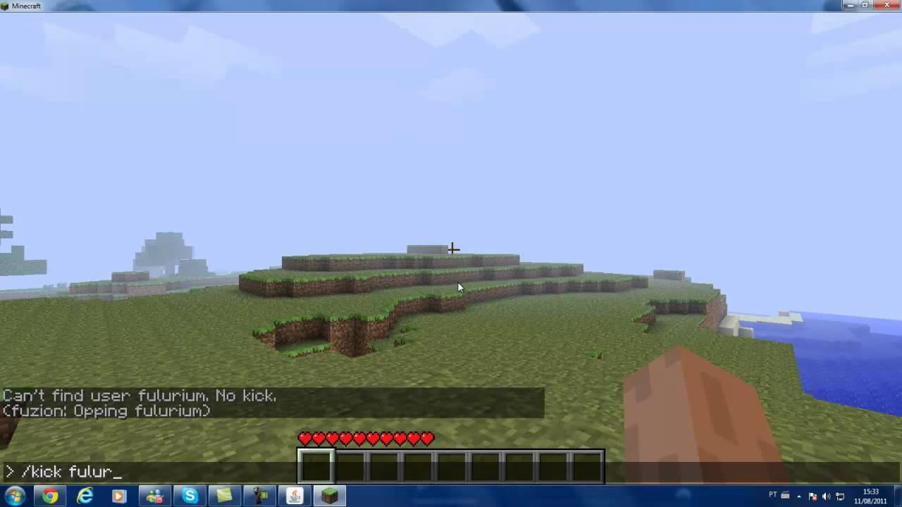 Como fazer Chover e parar de Chover no Minecraft