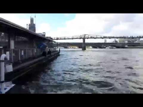 Experience London from the water. A hyperlapse of the Thames under 7 bridges.