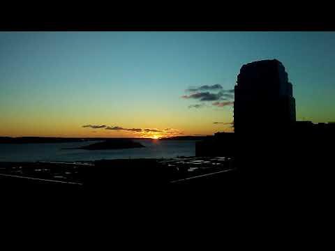 Halifax's First Sun Rise of 2021