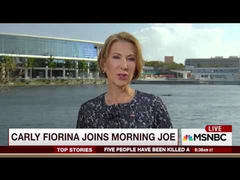 Carly Fiorina on Morning Joe | March 10, 2016 | Ted Cruz for President