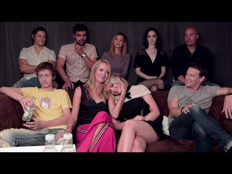 Amy Acker & The Gifted Cast Interview Comic-Con 2017
