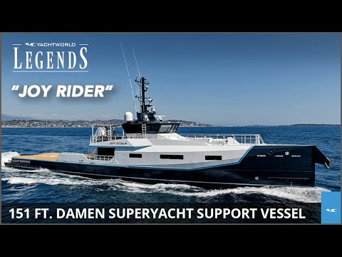 151-Foot Superyacht Joy Rider by Damen | YachtWorld Legends EP. 4