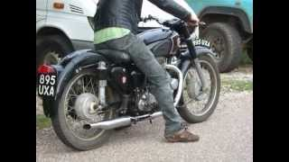 Matchless G80 1956 500cc Single Pt1