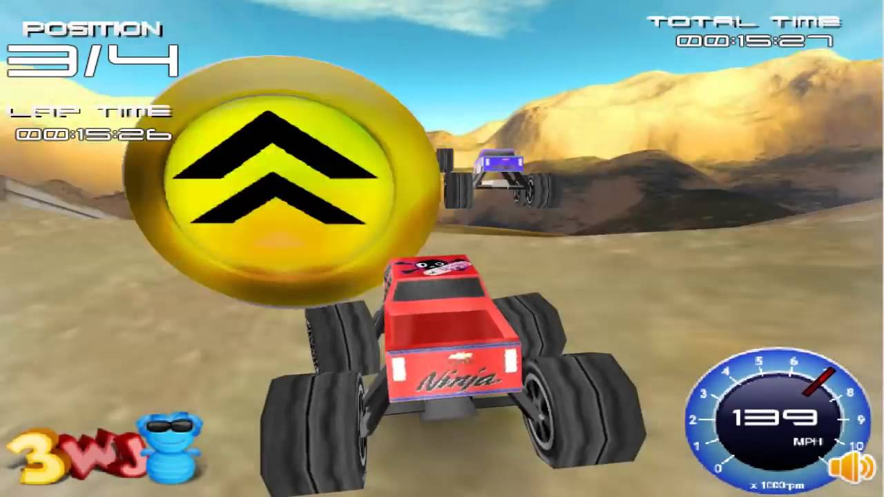 juego de carros para nios carrera de carros monstruos grandes
