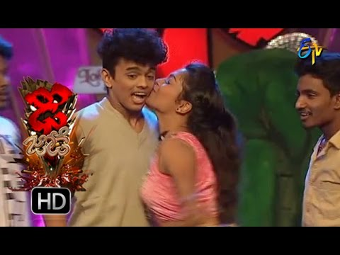 Sanketh and Priyanka Performance   Dhee Jodi   19th october2016  ETV Telugu