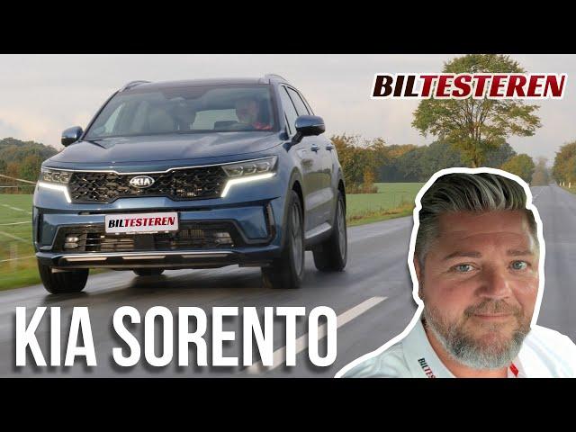 Lyden af en udendørs café! Kia Sorento Hybrid (test)