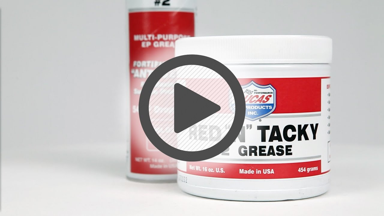 Lucas Oil Red 'N' Tacky Gear Grease - Pep Boys