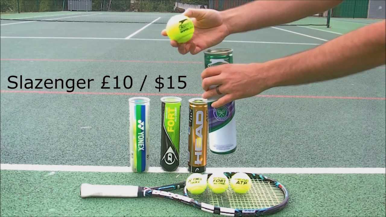 A Definitive Guide To The Best Tennis Balls For Every Level 2020