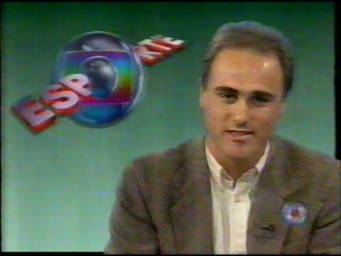 Globo Esporte: Inter Campeão da Liga Futsal - RBS TV (08/07/1996) RS