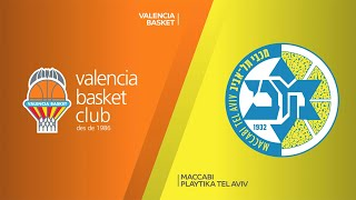 Valencia Basket - Maccabi Playtika Tel Aviv Highlights | EuroLeague, RS Round 10