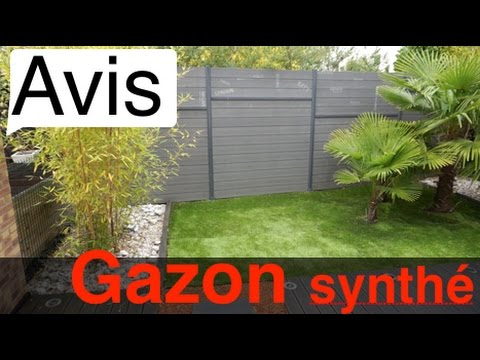 Avis pose gazon synth tique youtube - Leroy merlin rosny ...