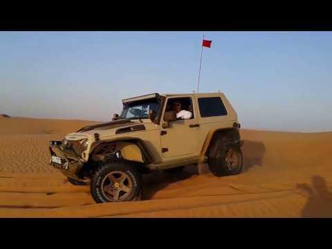 Dubai Desert Safari - Saving the JeeP