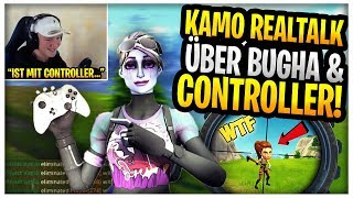 Ghost Kamo REALTALK about Bugha & Controller!| Letshe is ABSOLUT Lost😂| Fortnite Highlights English