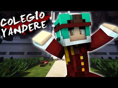 Colegio Yandere | ME INVITAN A UNA FIESTA (Historia en Minecraft) #4 | CILIO