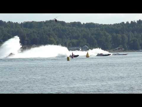 Swedish Grand Prix Class One Offshore 2010 Start race 1