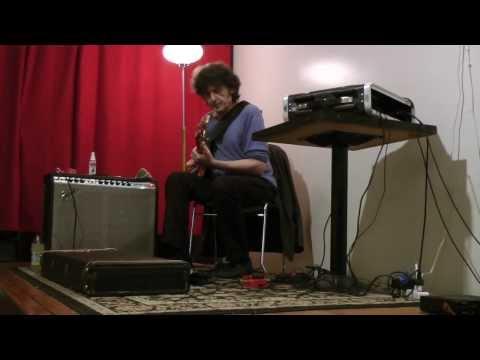 Richard Pinhas - Live at Stranded, Oakland 9-21-13