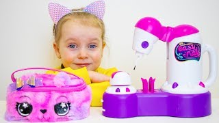 Gaby and Alex Pretend Play with Mama and Toys | Compilation ...