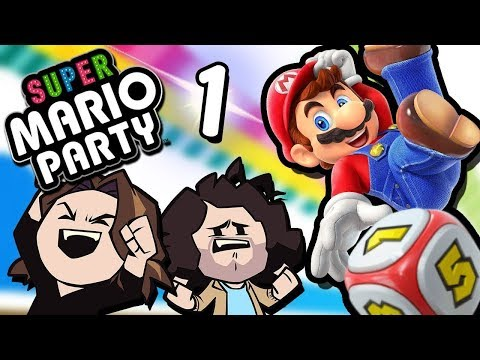 Super Mario Party: Goin Hard - PART 1 - Game Grumps VS