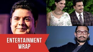 Sajid Khan accused of sexual harassment by Saloni Chopra; Aamir Khan opts out of Moghul and more...