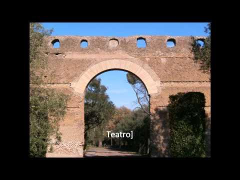 Hadrian's villa Tivoli  Rome tour guide