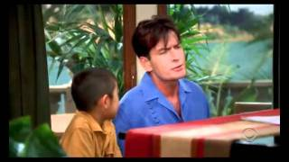 Two and a half men - Wer hat gefurzt ?