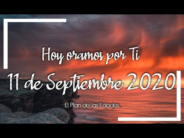 HOY ORAMOS POR TI | SEPTIEMBRE 11 de 2020 | Oración para encontrar descanso en Dios | Aguas d Reposo