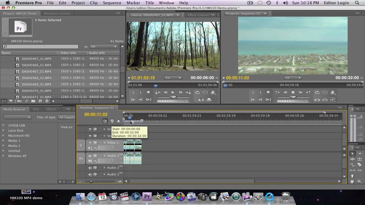 tutorial hm100 700 adobe premiere pro cs3 or cs4 youtube rh youtube com Adobe Premiere Pro CS5 Adobe Premiere Pro CC