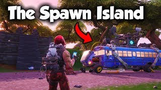How To Get To The SPAWN ISLAND In Creative Mode... (Fortnite Season 8)