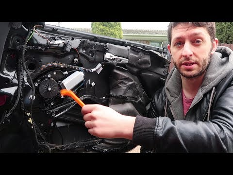BMW E46 Power Window Motor Replacement DIY