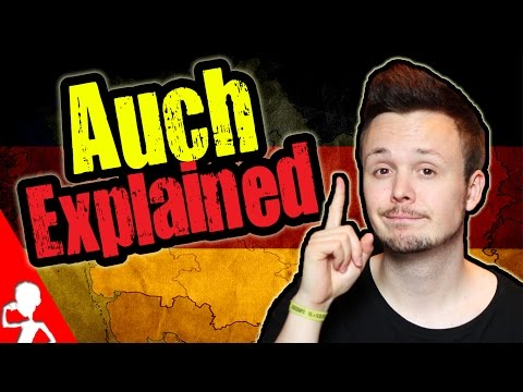 Learn German | Auch Explained