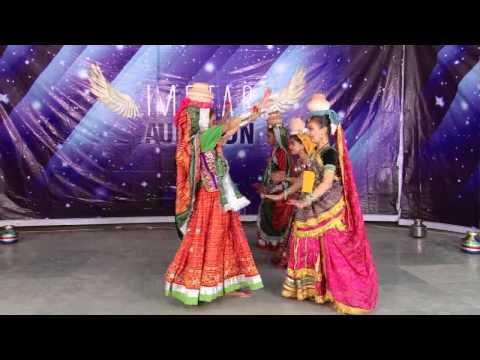 """Garabo """"Jino Jino Ma"""" IMSTAR Kutch Audition Nupur Folk Dance Group CNo1207"""
