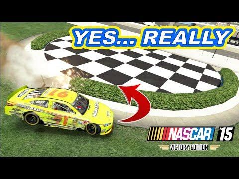 [I CRASHED INTO VICTORY LANE] Michigan 400 [NASCAR 15 Career Mode 16/36]
