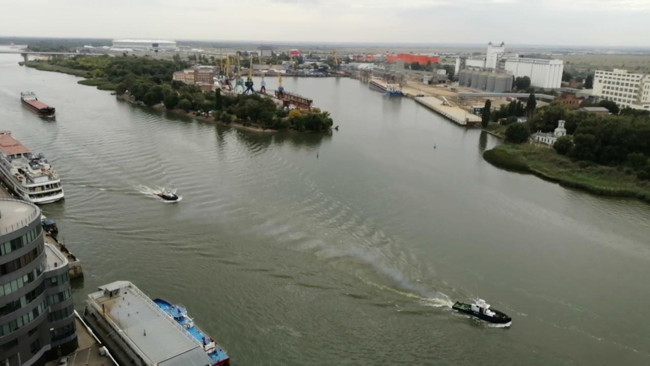 Ростов на Дону. Вид на Дон с 19 этажа