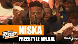 Niska - Freestyle Mr. Sal #RecordBattu #PlanèteRap