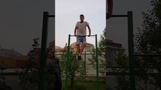 Рост 185 вес 60 - делаю выход силой ТУРНИК СПОРТ