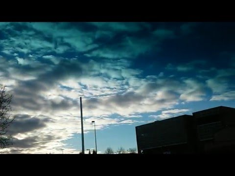 Bellingham Technical College time lapse sky