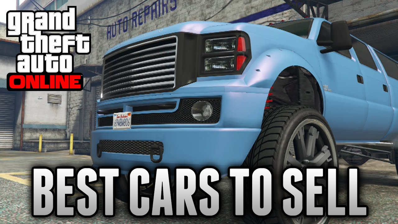 GTA 5 Online - TOP 5 BEST CARS TO FIND & SELL! Fast & Easy Money (GTA 5 Rare & Secret Ca