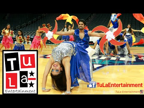 Charlotte Hornets Broklyn Nets Bollywood Magic USA Winners Malhar Dance Crew Feb 23 2019 4K Mp3