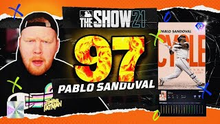 My *97* Pablo Sandoval Debut was a trap game! - MLB The Show 21