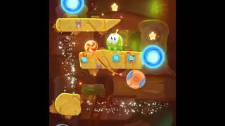 Cut the Rope Magic: Ancient Library Level 5-17 3 Stars