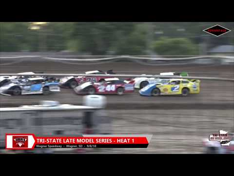Tri-State Late Model Heats - Wagner Speedway - 9/8/18