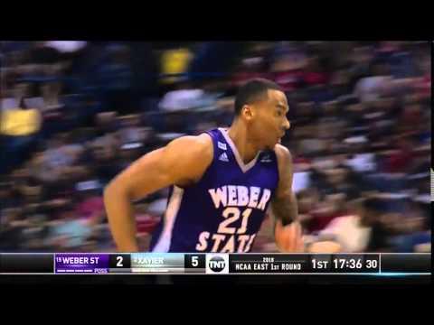 Weber St. vs. Xavier: Joel Bolomboy dunk