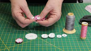 How To: Make a (Hand-sewn) Covered Button