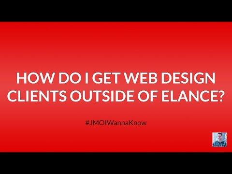 How Do I Get Web Design Clients Outside of Upwork (Elance and oDesk)?
