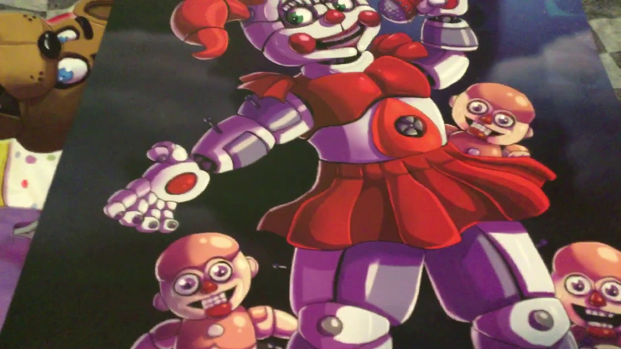 Circus Baby poster!! - YouTube
