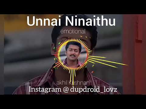 surya emotional song - unnai ninaithu # whatsapp bgm status