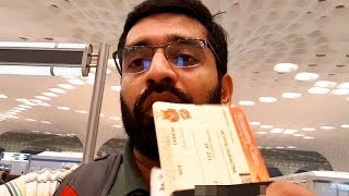 How to travel in a flight | Mumbai to Sharjah Marathi Vlog | Traveling first time by flight