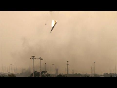 ВС Сирии сбили израильский военный самолёт